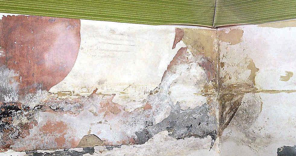 Humidades por infiltração nas paredes